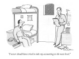 """I never should have tried to take my accounting to the next level."" - New Yorker Cartoon Premium Giclee Print by Leo Cullum"