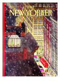The New Yorker Cover - December 7, 1992 Regular Giclee Print by Roxie Munro