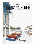 The New Yorker Cover - August 8, 1977 Regular Giclee Print by Arthur Getz