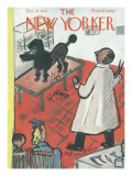 The New Yorker Cover - November 9, 1946 Premium Giclee Print by Abe Birnbaum