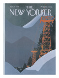 The New Yorker Cover - January 27, 1975 Regular Giclee Print by Charles E. Martin