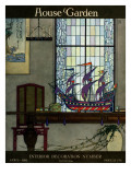 House & Garden Cover - April 1919 Premium Giclee Print by Harry Richardson
