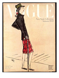 "Vogue Cover - September 1945 Regular Giclee Print by Carl ""Eric"" Erickson"