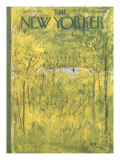 The New Yorker Cover - April 28, 1951 Premium Giclee Print by Abe Birnbaum