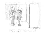 """Capri pants, capri jacket—the ideal summer suit."" - New Yorker Cartoon Premium Giclee Print by Robert Mankoff"
