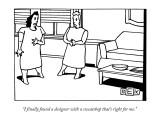 """I finally found a designer with a sweatshop that's right for me."" - New Yorker Cartoon Premium Giclee Print by Bruce Eric Kaplan"