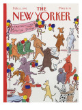 The New Yorker Cover - February 11, 1991 Premium Giclee Print by Danny Shanahan