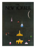 The New Yorker Cover - October 1, 1979 Regular Giclee Print by R.O. Blechman