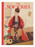 The New Yorker Cover - December 27, 1941 Premium Giclee Print by Rea Irvin