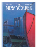 The New Yorker Cover - March 17, 1973 Regular Giclee Print by Charles E. Martin