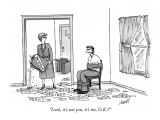 """Look, it's not you, it's me, O.K.?"" - New Yorker Cartoon Premium Giclee Print by Tom Cheney"