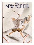 The New Yorker Cover - March 7, 1936 Premium Giclee Print by Constantin Alajalov