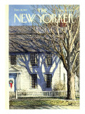 The New Yorker Cover - December 18, 1971 Premium Giclee Print by Arthur Getz