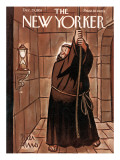 The New Yorker Cover - December 29, 1951 Premium Giclee Print by Peter Arno