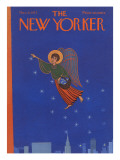 The New Yorker Cover - December 9, 1972 Premium Giclee Print by Charles E. Martin