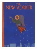 The New Yorker Cover - December 9, 1972 Regular Giclee Print by Charles E. Martin