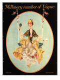 Vogue Cover - March 1915 Premium Giclee Print by Frank X. Leyendecker