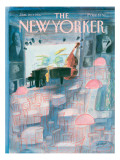The New Yorker Cover - January 20, 1986 Premium Giclee Print by Jean-Jacques Semp&#233;