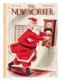 The New Yorker Cover - December 11, 1937 Regular Giclee Print by Constantin Alajalov