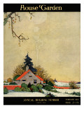 House & Garden Cover - February 1918 Regular Giclee Print by Charles Livingston Bull