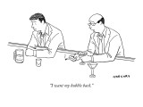 """I want my bubble back."" - New Yorker Cartoon Premium Giclee Print by Alex Gregory"