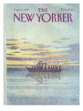 The New Yorker Cover - September 13, 1982 Premium Giclee Print by Charles E. Martin
