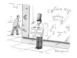 Will work for Food Network - New Yorker Cartoon Premium Giclee Print by Danny Shanahan
