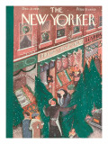 The New Yorker Cover - December 21, 1935 Premium Giclee Print by Ilonka Karasz