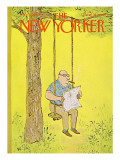 The New Yorker Cover - August 12, 1967 Regular Giclee Print by William Steig