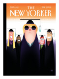 The New Yorker Cover - June 2, 2008 Regular Giclee Print by Bob Staake
