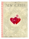 The New Yorker Cover - February 16, 1952 Premium Giclee Print by Ilonka Karasz