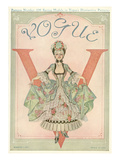 Vogue Cover - March 1911 Premium Giclee Print by Frank X. Leyendecker