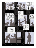 The New Yorker Cover - June 6, 2005 Regular Giclee Print by Christoph Niemann