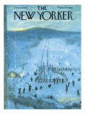The New Yorker Cover - February 18, 1956 Regular Giclee Print by Garrett Price