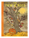The New Yorker Cover - October 31, 1959 Premium Giclee Print by William Steig