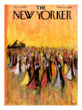 The New Yorker Cover - December 10, 1960 Premium Giclee Print by Robert Kraus