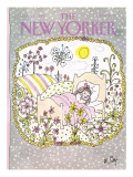 The New Yorker Cover - January 13, 1986 Premium Giclee Print by William Steig
