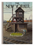 The New Yorker Cover - March 26, 1960 Regular Giclee Print by Arthur Getz