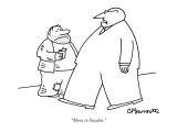 """Move to Sweden."" - New Yorker Cartoon Premium Giclee Print by Charles Barsotti"