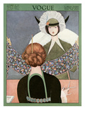 Vogue Cover - October 1913 Regular Giclee Print by George Wolfe Plank