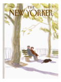 The New Yorker Cover - March 23, 1981 Premium Giclee Print by James Stevenson