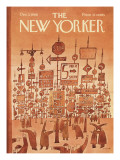 The New Yorker Cover - December 3, 1966 Regular Giclee Print by Jean Michel Folon