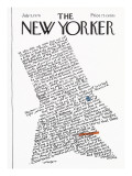 The New Yorker Cover - July 5, 1976 Premium Giclee Print by Lou Myers
