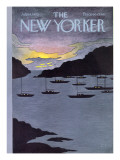 The New Yorker Cover - July 14, 1975 Regular Giclee Print by Charles E. Martin