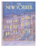 The New Yorker Cover - December 17, 1984 Regular Giclee Print by Iris VanRynbach