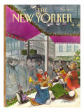 The New Yorker Cover - December 7, 1981 Regular Giclee Print by Charles Saxon