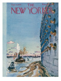 The New Yorker Cover - September 8, 1945 Premium Giclee Print by Alan Dunn