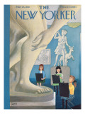 The New Yorker Cover - March 25, 1961 Premium Giclee Print by Charles E. Martin
