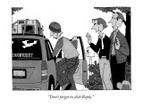 &quot;Don&#39;t forget to click Reply.&quot; - New Yorker Cartoon Premium Giclee Print by William Haefeli