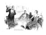 """Really, couldn't we have one with less joie de vivre?"" - New Yorker Cartoon Premium Giclee Print by R. Van Buren"